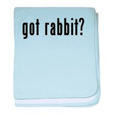 GOT RABBIT baby blanket