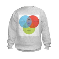 The Nerd Paradigm Kids Sweatshirt