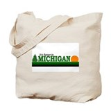 Unique Up north Tote Bag