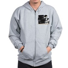 Ice Hockey Gear Zip Hoodie