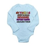 FINGERS WRAP GREAT-GRANDMA Onesie Romper Suit