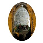 ighted Arch Christ Church Ornament (Oval)