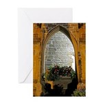 ighted Arch Christ Church Greeting Card