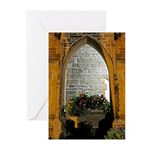 ighted Arch Christ Church Greeting Cards (Pk of 10