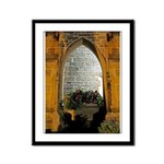 ighted Arch Christ Church Framed Panel Print