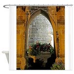 ighted Arch Christ Church Shower Curtain