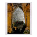 ighted Arch Christ Church Throw Blanket