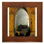 ighted Arch Christ Church Framed Tile