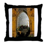 ighted Arch Christ Church Throw Pillow