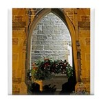 ighted Arch Christ Church Tile Coaster
