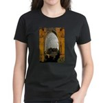 ighted Arch Christ Church Women's Dark T-Shirt