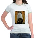 ighted Arch Christ Church Jr. Ringer T-Shirt