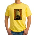 ighted Arch Christ Church Yellow T-Shirt
