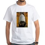 ighted Arch Christ Church White T-Shirt