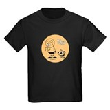 Martian Picnic Orange Dark T-Shirt