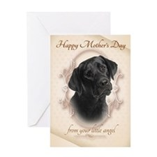 Funny Black Lab Mother's Day Card