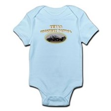 Texas Highway Patrol Infant Bodysuit