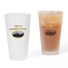 Texas Highway Patrol Drinking Glass