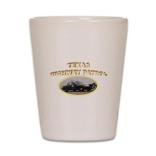 Texas Highway Patrol Shot Glass