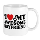 I Love My Awesome Boyfriend Coffee Mug