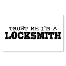Trust Me I'm A Locksmith Decal