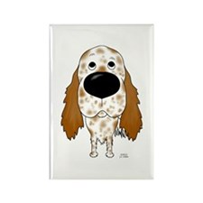 Big Nose English Setter Rectangle Magnet