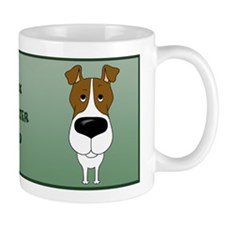 Big Nose Fox Terrier Dad Mug