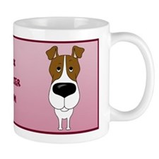 Big Nose Fox Terrier Mom Mug