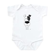 Big Nose Fox Terrier Infant Bodysuit