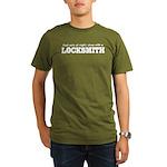Funny Locksmith Organic Men's T-Shirt (dark)
