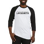 Funny Locksmith Baseball Jersey