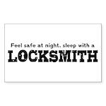 Funny Locksmith Sticker (Rectangle)