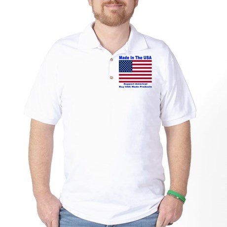 Made In The USA Golf Shirt
