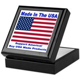Made In The USA Keepsake Box