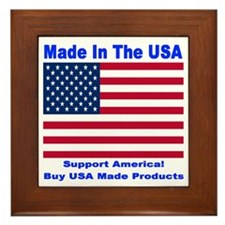 Made In The USA Framed Tile
