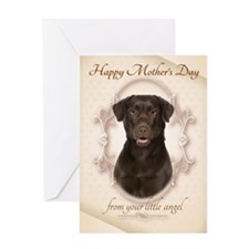 Funny Lab Mother's Day Card