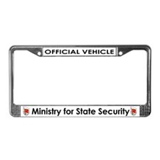 My Stasi Shoppe License Plate Frame