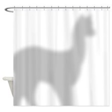 Alpaca 2 Shower Curtain