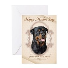Funny Rottweiler Mother's Day Card