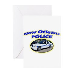 New Orleans Police Department Greeting Cards (Pk o