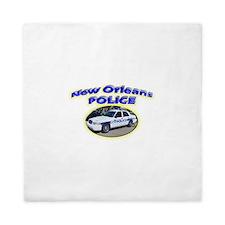 New Orleans Police Department Queen Duvet