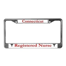 Connecticut Registered Nurse License Plate Frame
