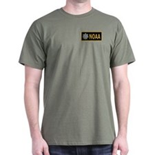 NOAA Commander<BR> Black Shirt 1