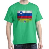 """Slovenia Flag"" T-Shirt"