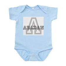 Letter A: Abadan Infant Creeper