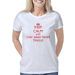 Black Ribbon Melanoma Women's Light T-Shirt