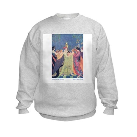 Abbott's Dancing Princesses Kids Sweatshirt