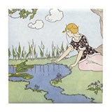 Price's Frog Prince Tile Coaster
