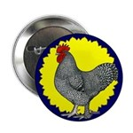 "Maline Rooster 2.25"" Button (100 pack)"