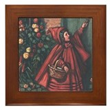Cole's Red Riding Hood Framed Tile
